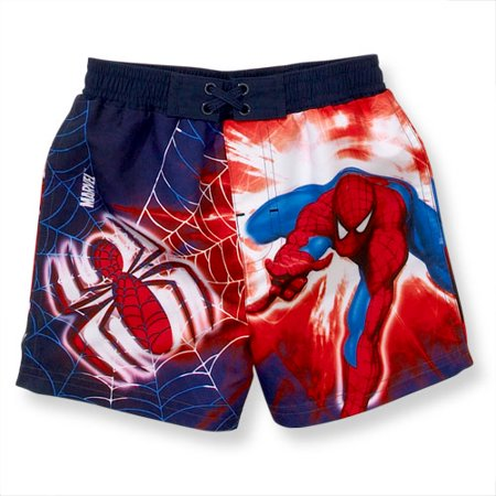 9bad898a93c83 Spider Man - Marvel - Spiderman Swim Trunks - Infant Boy - Walmart.com