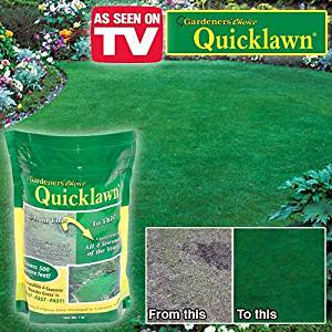 Gardener's Choice Quicklawn Lawn Seed- 1 Lb Bag (500 Sq.