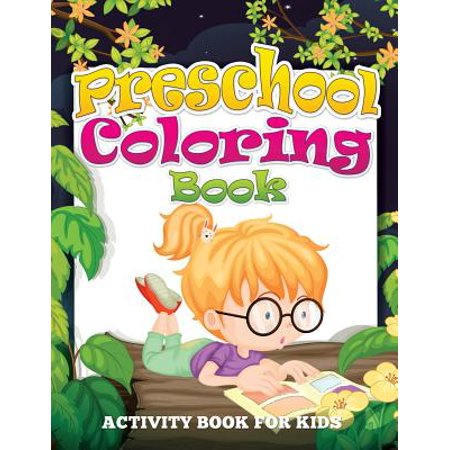 Preschool Coloring Book (Activity Book for Kids) - Kid Halloween Coloring Pages