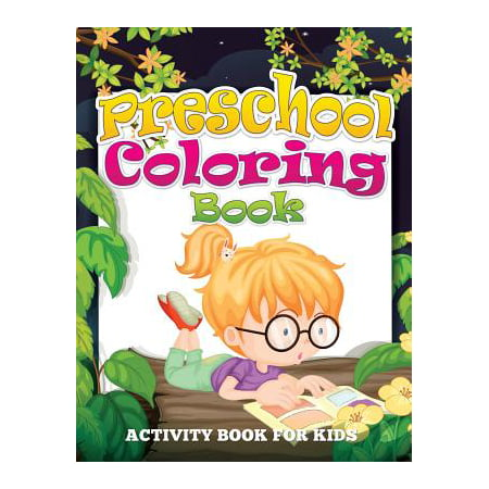 Preschool Coloring Book (Activity Book for Kids) - Police Officer Coloring Pages
