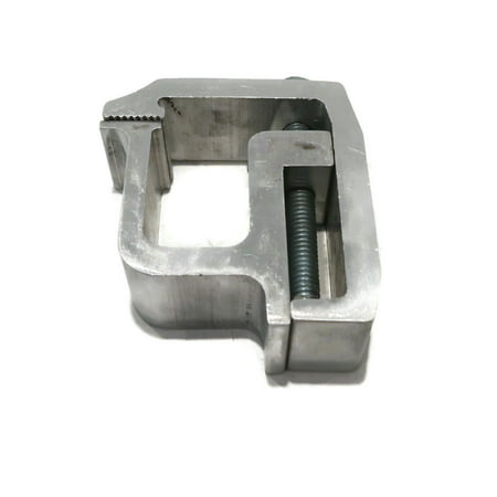 New Heavy Duty ALUMINUM MOUNTING CLAMP for Truck Cap Topper Camper RV Shell Rail by The ROP Shop