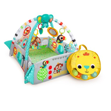 Bright Starts 5-in-1 Your Way Ball Play Activity Gym & Ball Pit - Neutral, Ages Newborn +