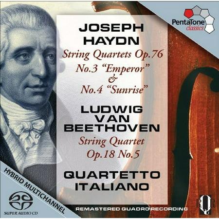 Haydn/Beethoven - Haydn: String Quartets, Op. 76; Beethoven: String Quartet, Op. 18 No. 5