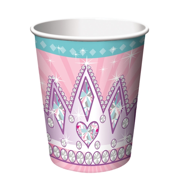 Princess Party 9oz Hot/Cold Cups (8 ct)
