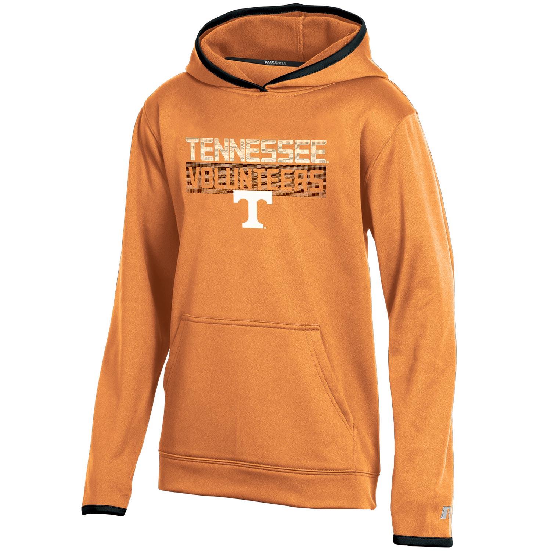 Youth Russell Tennessee Orange Tennessee Volunteers Pullover Hoodie
