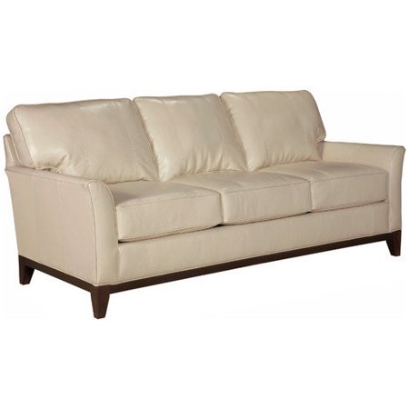 Broyhill perspectives leather sofa for Broyhill chaise lounge cushions