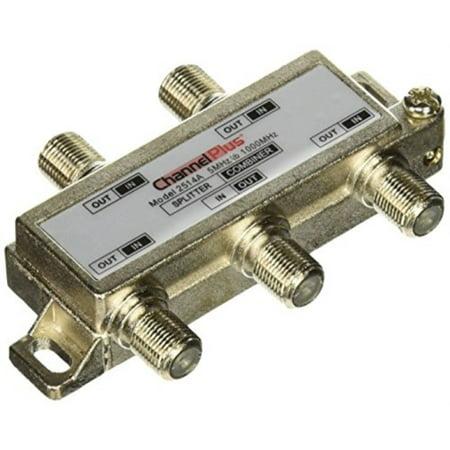 Linear 2514 ChannelPlus DC & IR Passing 4-Way Splitter/Combiner ()