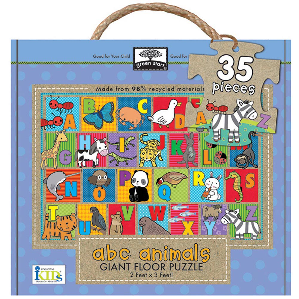 ABC Animals 35 Piece Floor Puzzle