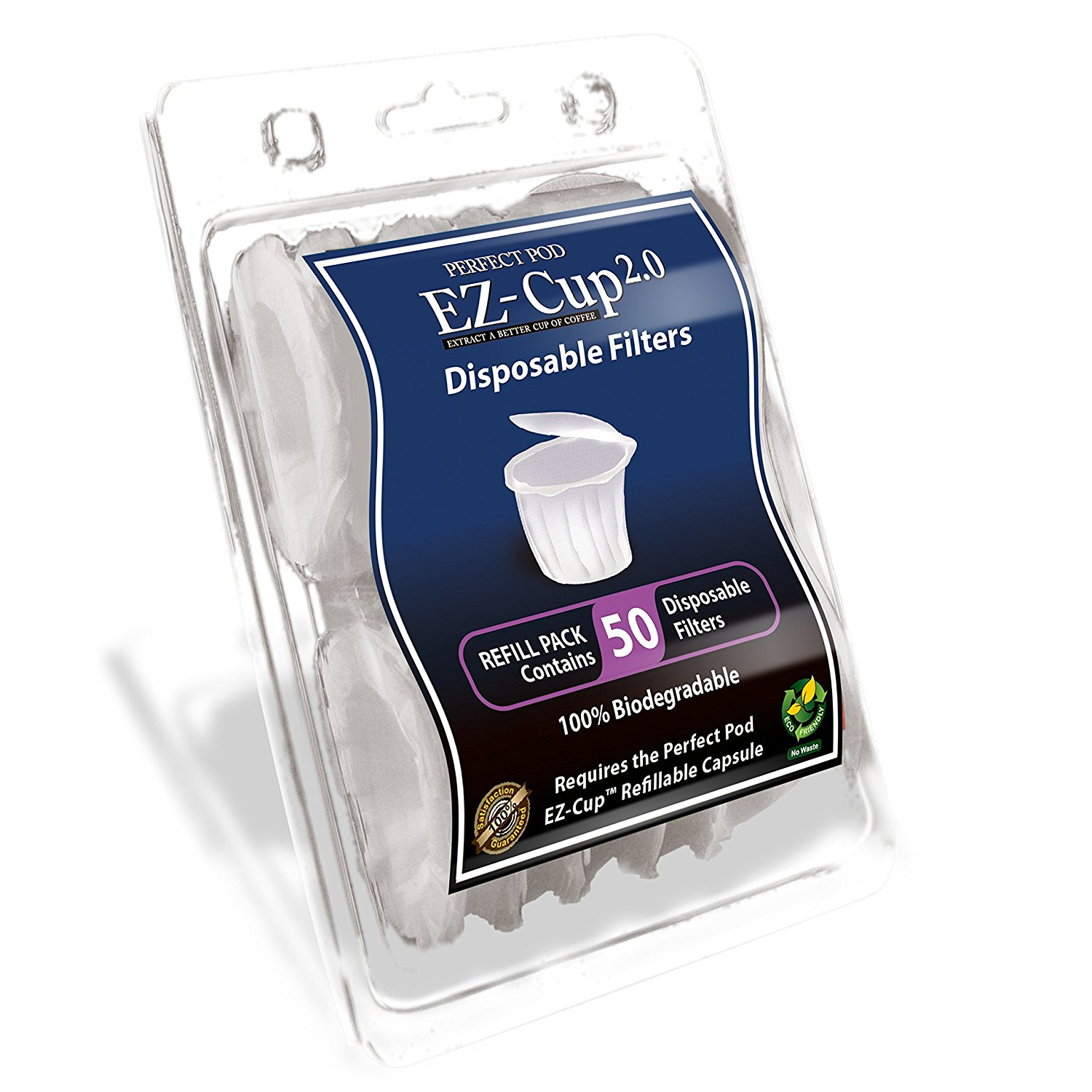 EZ-Cup Filters by Perfect Pod - 10 Pack (500 Filters)