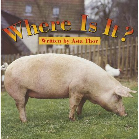 Ready Readers, Stage Zero, Book 13, Wher Is It?, Single