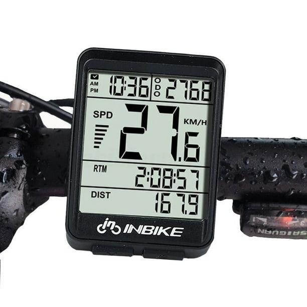 NEW 321 Bicycle Computer Waterproof Wireless LCD Odometer Bicycle Speedometer