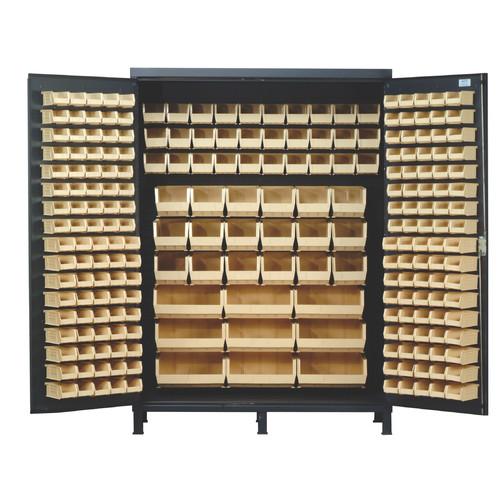 Quantum Storage 84'' H x 60'' W x 24'' D Super Wide Heavy Duty Storage Cabinet