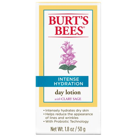 Burts Bees Intense Hydration Day Lotion  1 8 Ounces