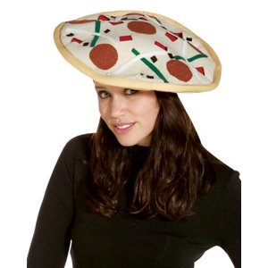 PIZZA HAT - Halloween Pizza Appetizers