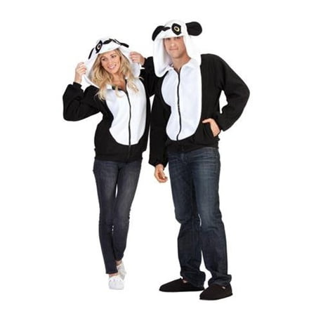 Parker the Panda Hoodie Adult Costume (Big Panda Head Costume)