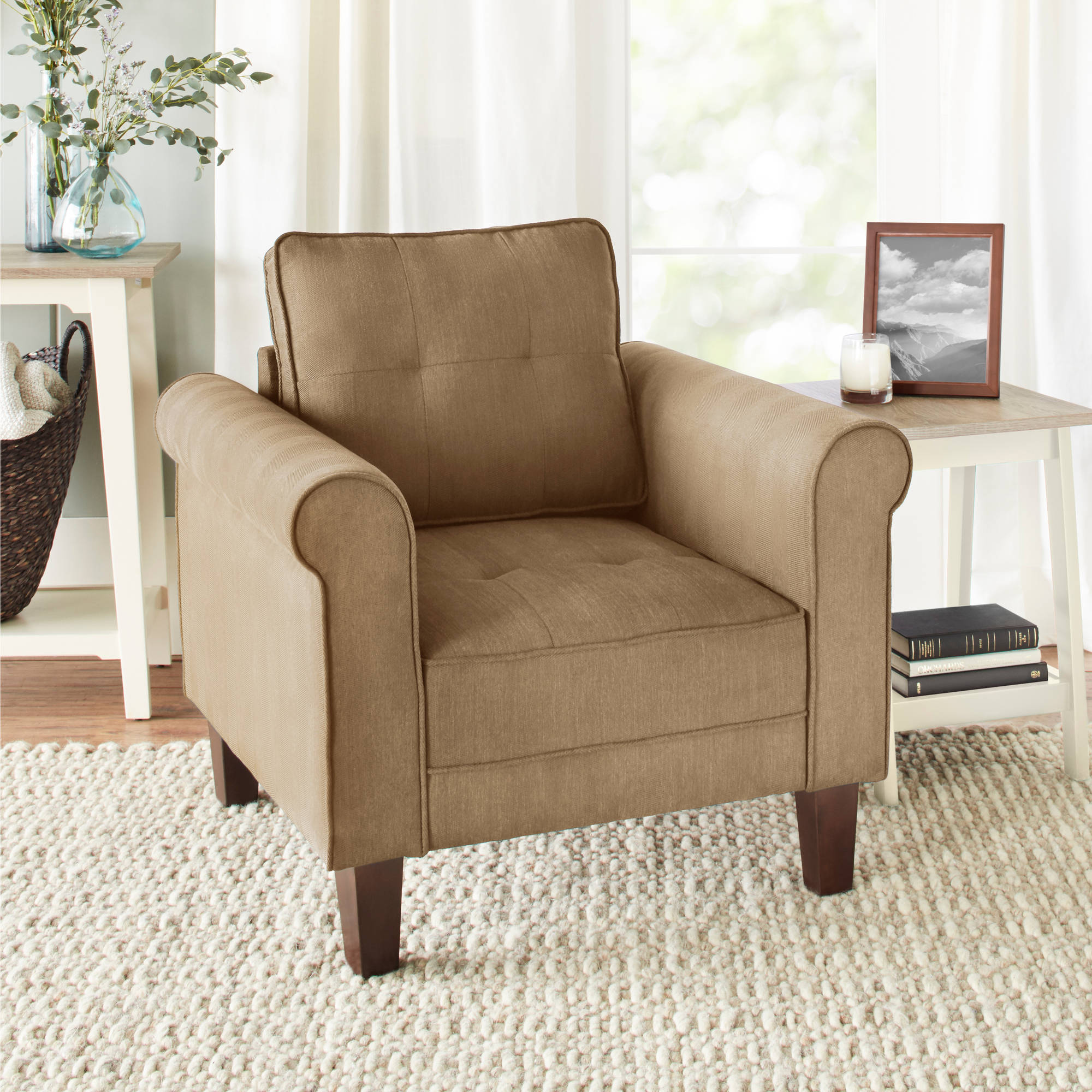 10 Spring Street Ashton Lounge Chair, Multiple Colors