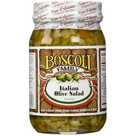 Olive Oil Salads (Boscoli Olive Salad Italian Oil, 15.5)