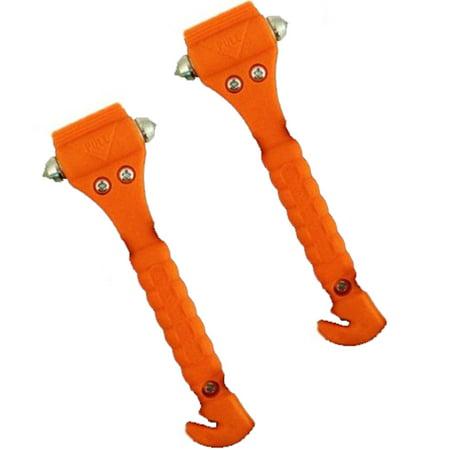 Universal Emergency Hammer Window Punch & Seat Belt Cutter for Automotive