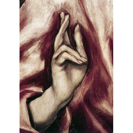 Redeemer Light - The Redeemer - Detail Poster Print by El Greco (20 x 28)