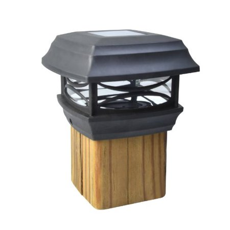 Solarmount Top (Solar Powered Post Cap Led Light - Designed To Mount On Top of 4X4 Fence)