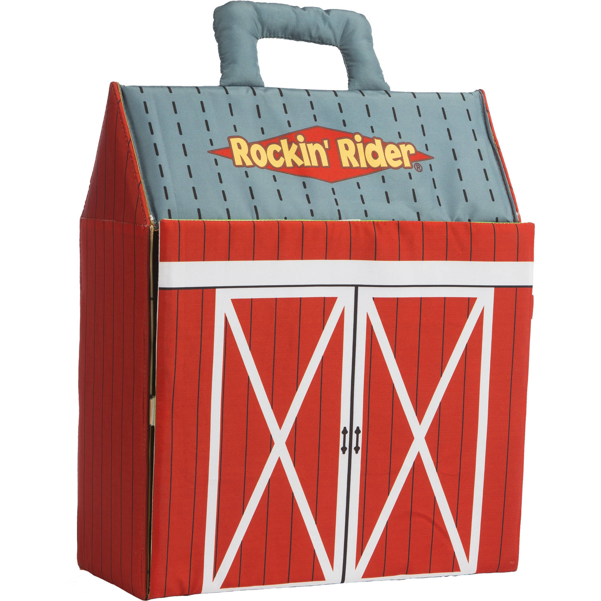Rockin' Rider Carry-Along Horse Stable