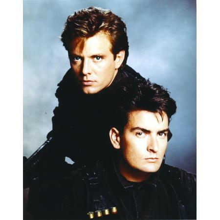 Michael Biehn Posed in Group Portrait Black Leather jacket Photo (Group Portrait Photo)