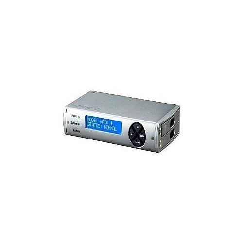 WiebeTech ToughTech Duo 3SR - Hard drive array - 2 bays ( SATA-300 ) - USB 2.0, SATA 1.5Gb/s, USB 3.0 (external)