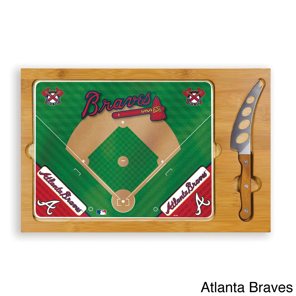Picnic Time Icon (MLB) National League 3-piece Cheese Set