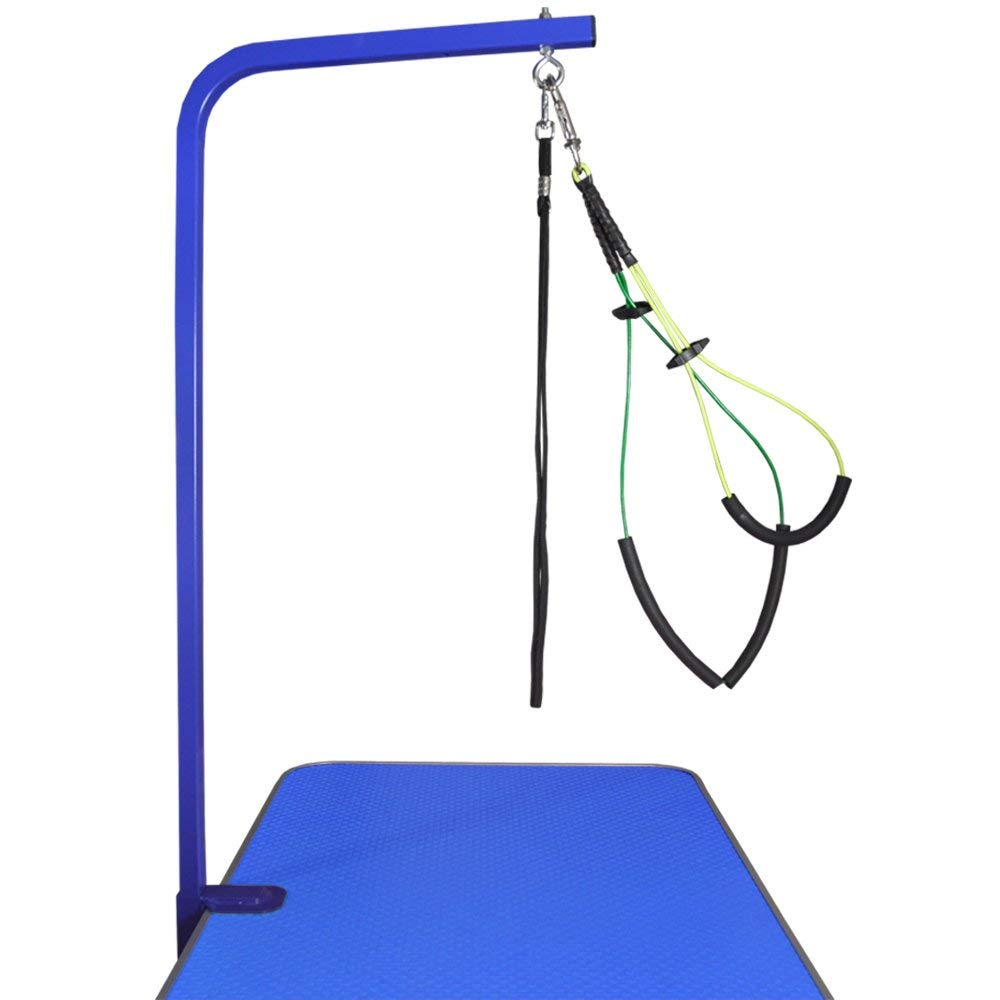 """36"""" Grooming Arm with Clamp (BLUE) + Dog Grooming Loop + No Sit Haunch Holder"""