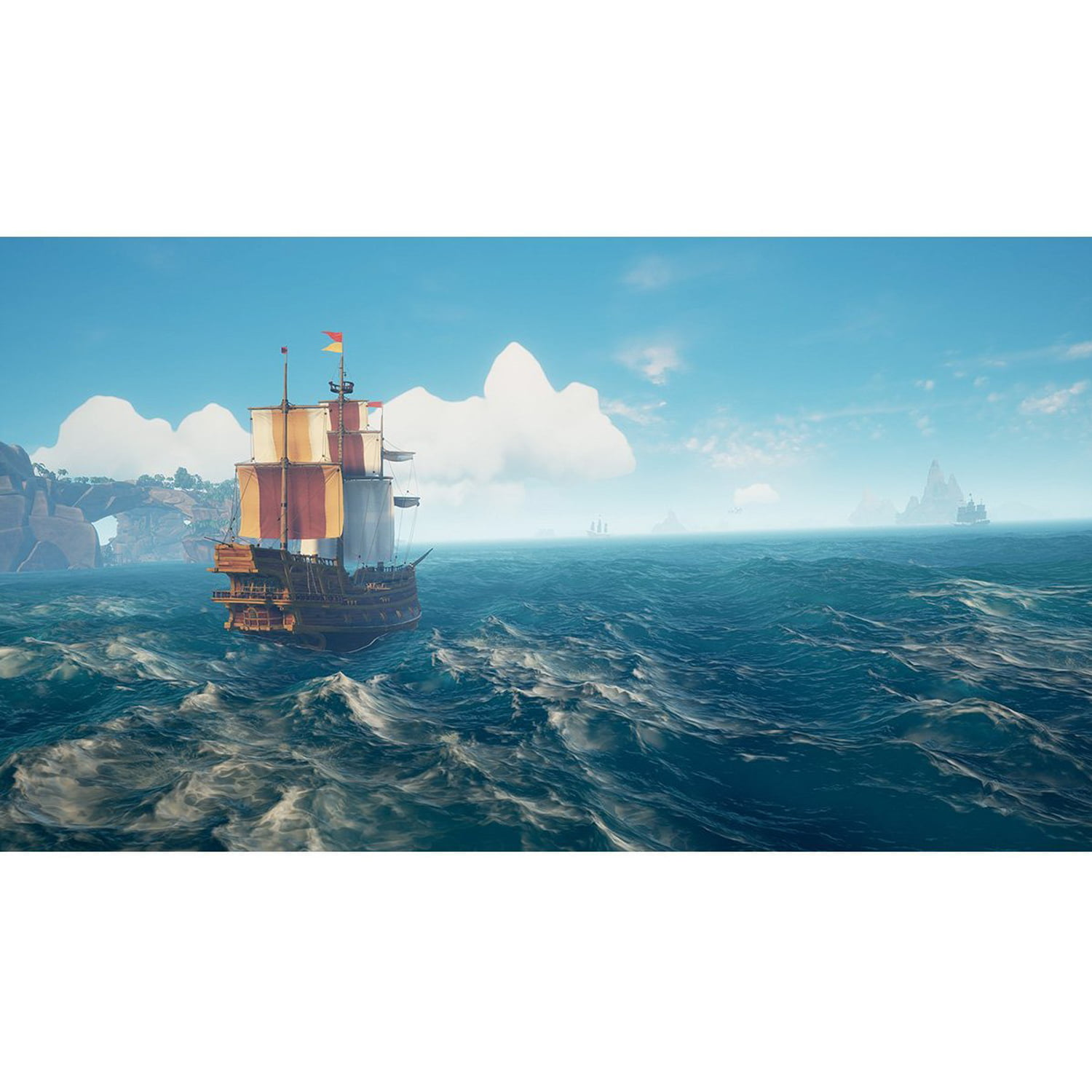 Sea of Thieves, Microsoft, Xbox One, 889842280449 - Walmart com