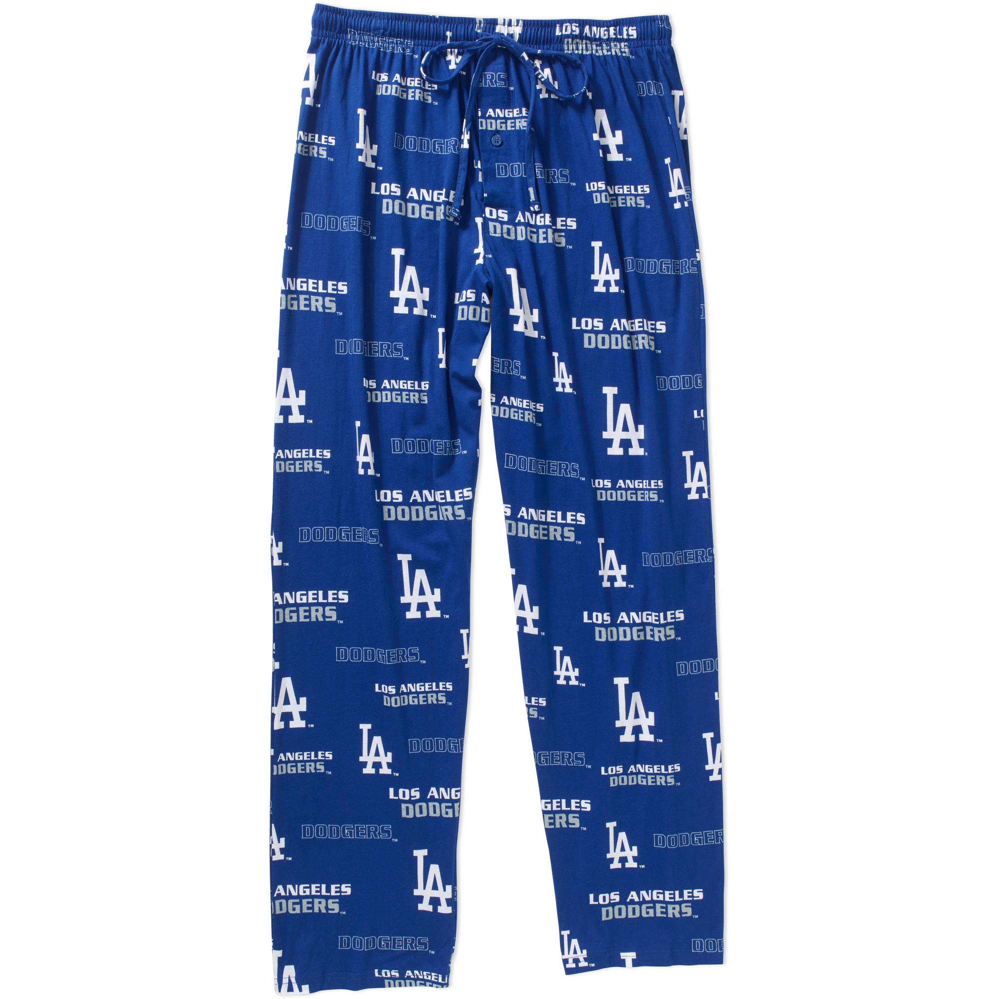 MLB Men's Los Angeles Dodgers Knit Sleep Pants