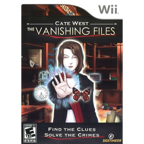 cate west the vanishing files - nintendo wii
