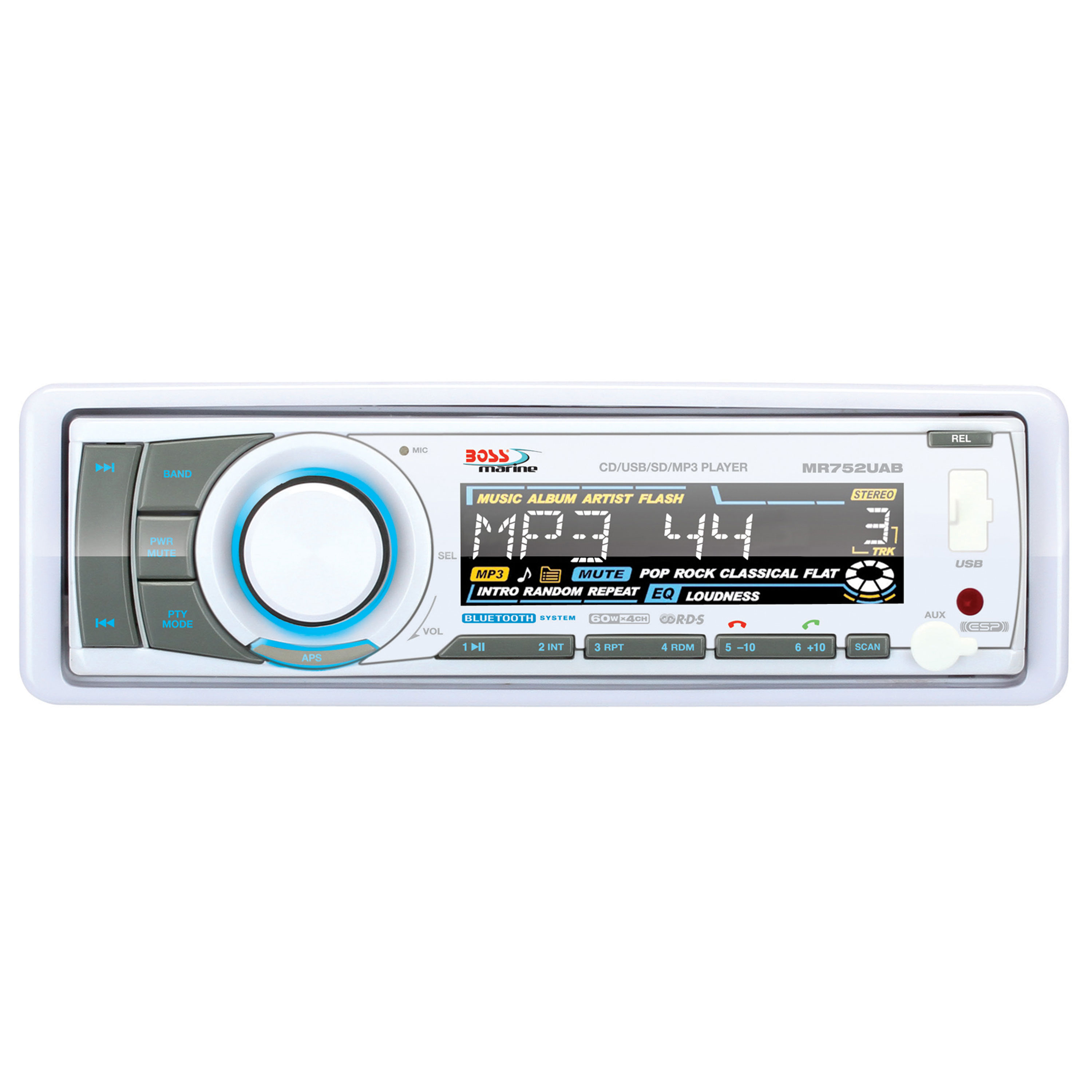 Boss Audio Systems MR752UAB Boss Mp3 Compatible Cd Receiver