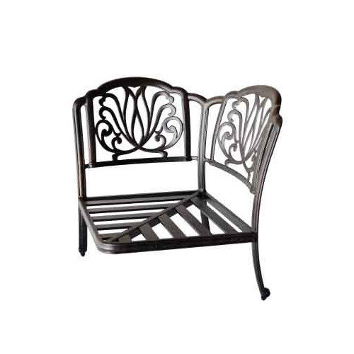 K B Patio Sicily Corner Sectional Chair
