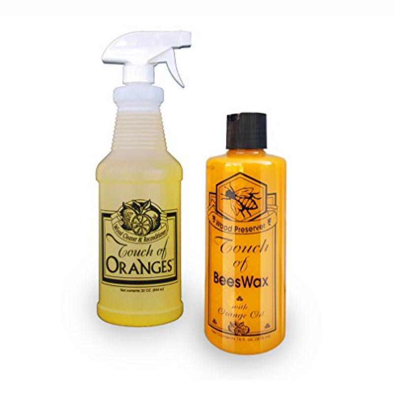 Touch of Oranges Wood Cleaner & Recondtioner 32oz & 16oz ...