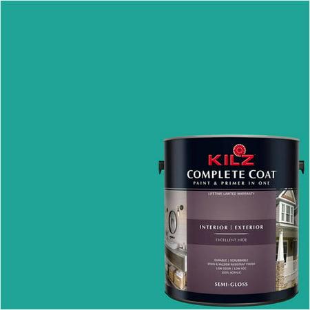Teak Paint (KILZ COMPLETE COAT Interior/Exterior Paint & Primer in One #RH150 Deep)