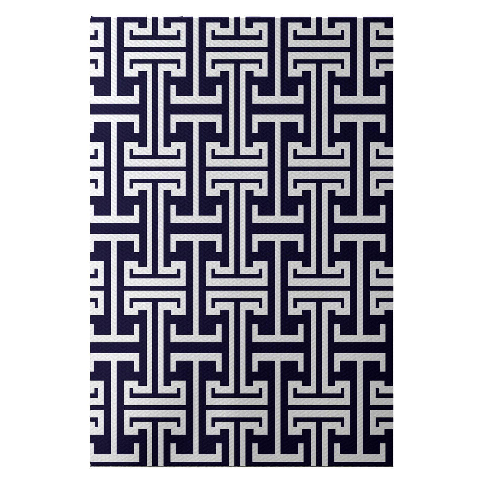 Simply Daisy 3' x 5' Greek Isles Geometric Print Indoor Rug