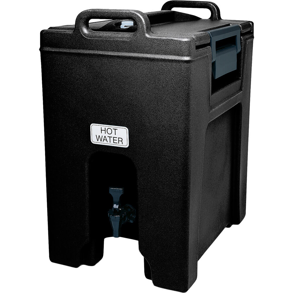 Cambro 10.5 Gal. Insulated Beverage Dispenser, Ultra Camtainer, Black, UC1000-110