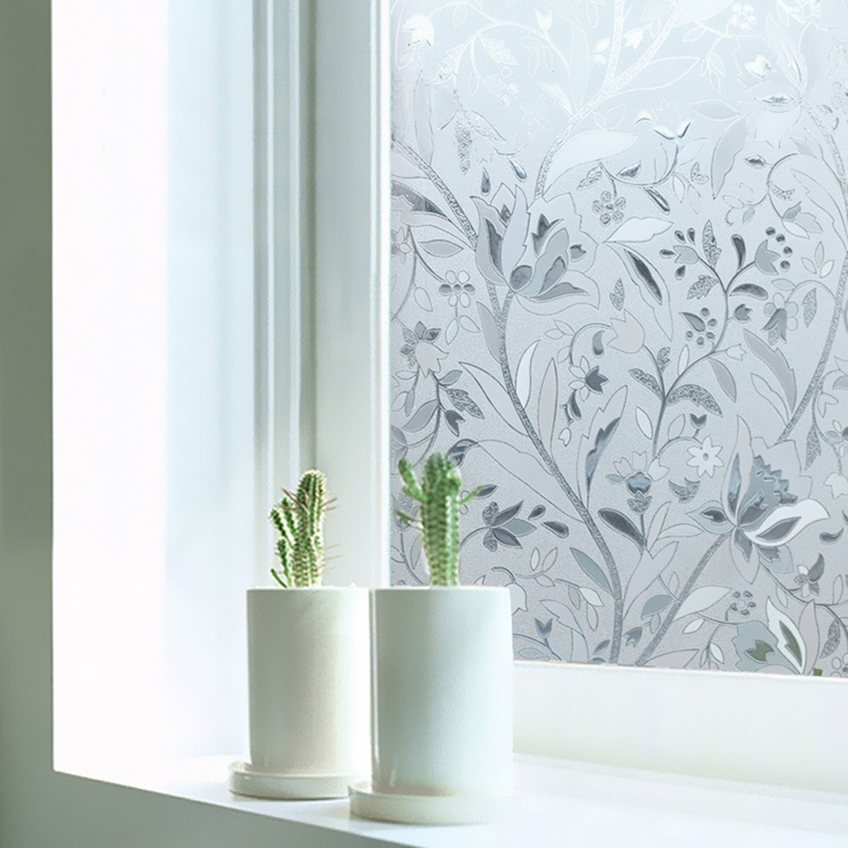 Waterproof PVC Frosted Window Sticker Glass Film Privacy Home - Window stickers for home privacy