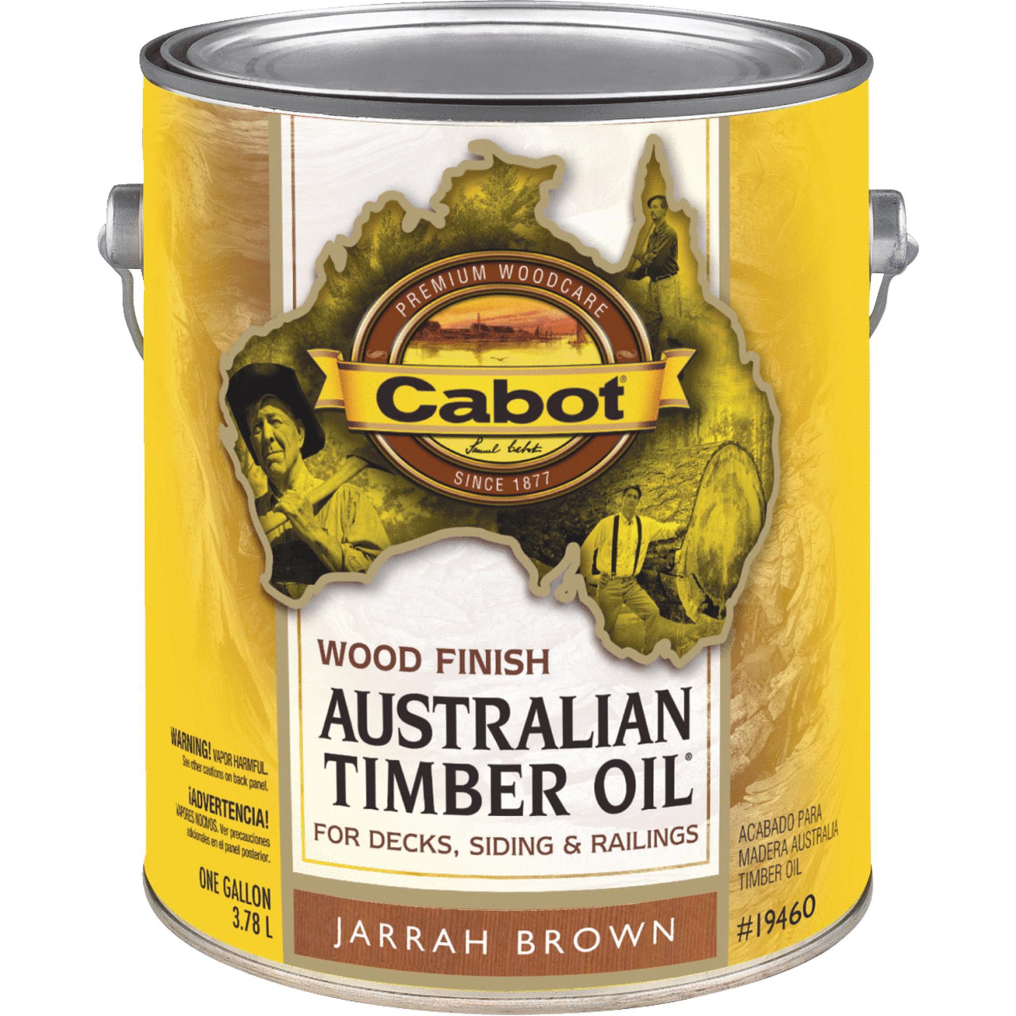 Cabot Australian Timber Oil Water Reducible Translucent E...