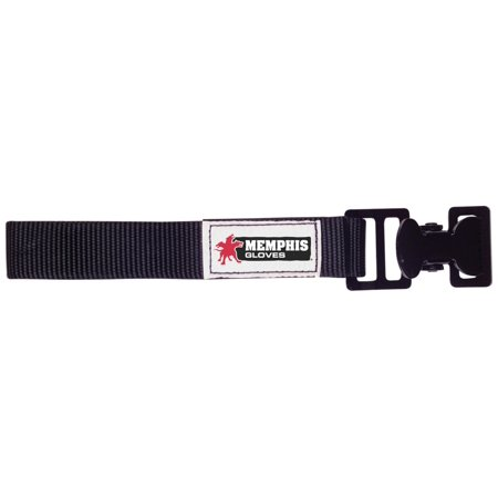 Nylon Pole Safety Strap (GCB Nickel Gloves Utility Clip with Nylon Strap, Black, Reduce hand injuries by keeping your gloves were they are easily accessible with these glove.., By MCR Safety )