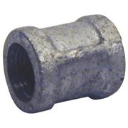 Pannext Fittings G-CPL15 Galvanized Coupling With Stop - 1.5 in.