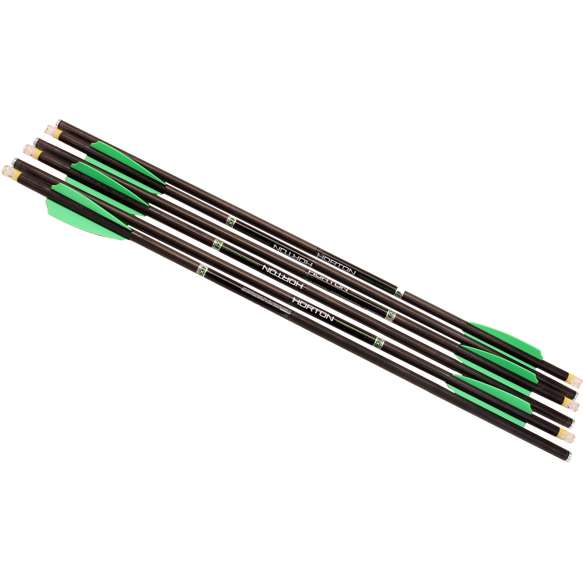 "Horton Omni Brite 2 Lighted Carbon 20"" Arrows 6pk HEA-728.6"