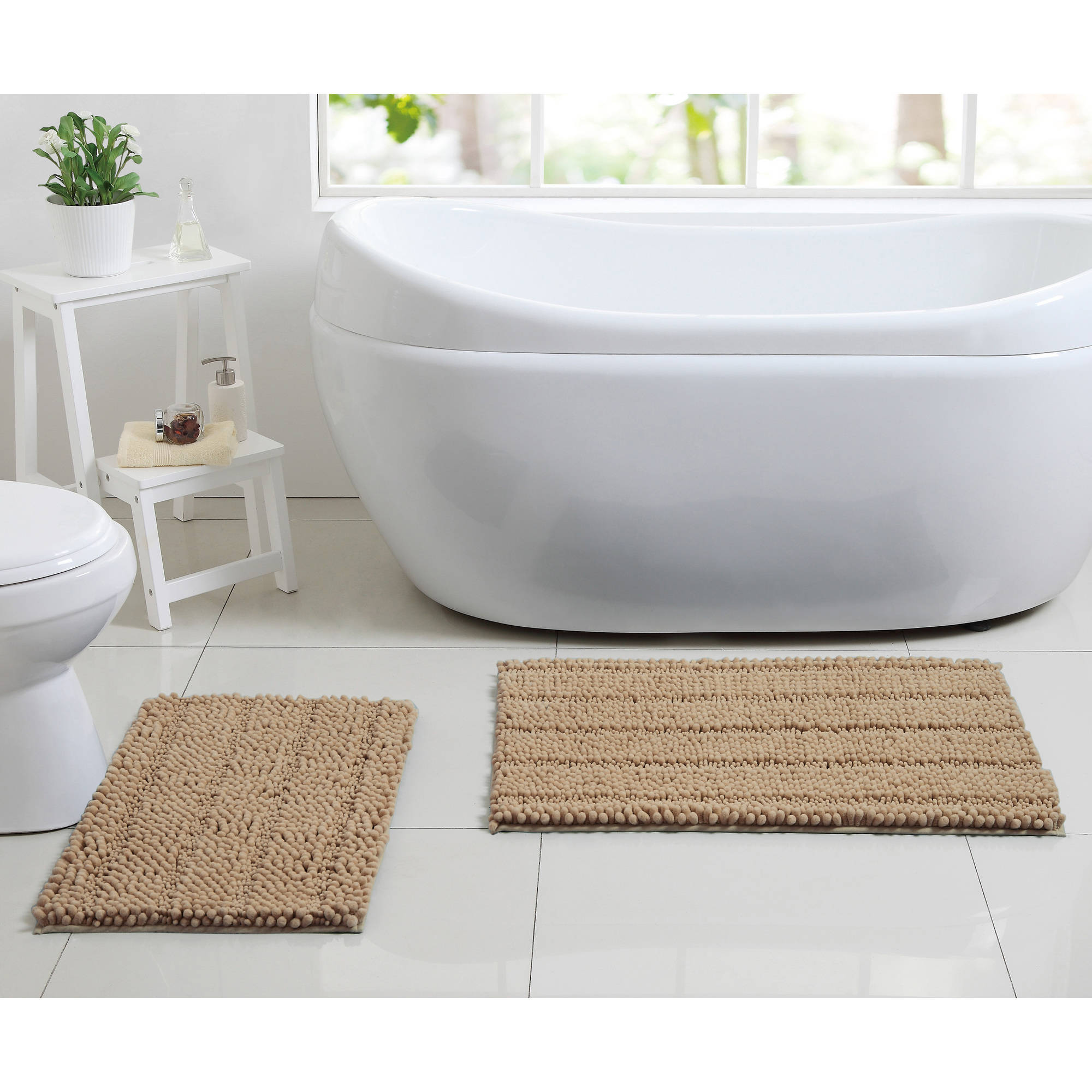 Better Homes and Gardens Noodle 2-Piece Bath Rug Set