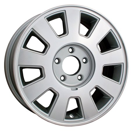 2003-2005 Mercury Grand Marquis  16x7 Alloy Wheel, Rim Sparkle Silver Painted with Machined Face - 3496