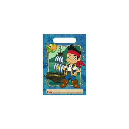 Hallmark - Disney Jake and the Never Land Pirates Treat Bags - Jake The Pirate Birthday Party