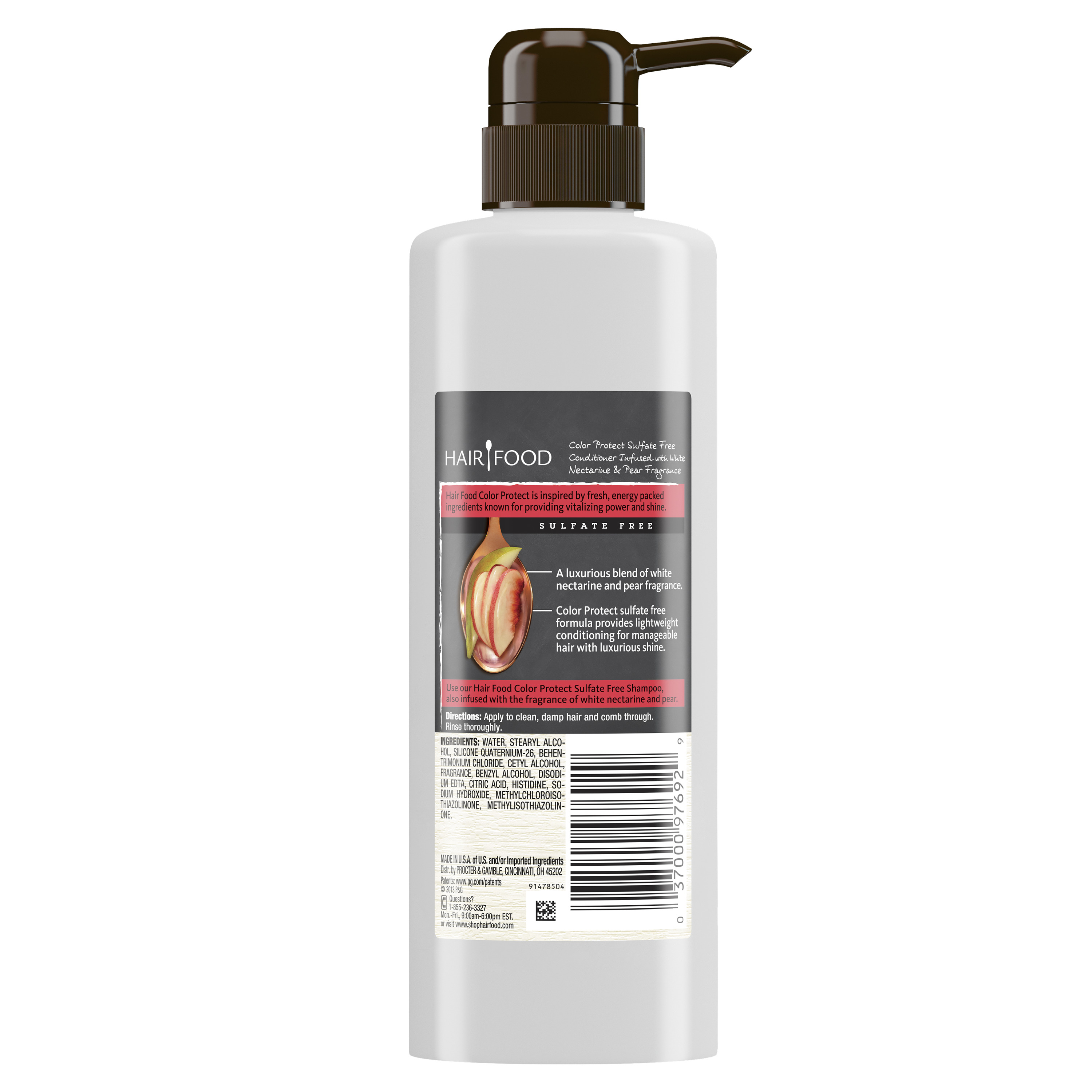 Hair Food Sulfate Free Color Protect Conditioner Infused With White