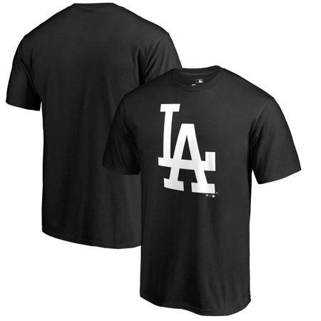 Los Angeles Dodgers Fanatics Branded Primary Logo T-Shirt - Black