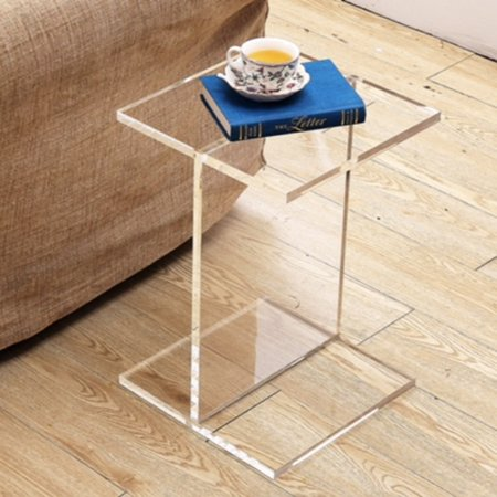 Fht Clear Acrylic Accent Table