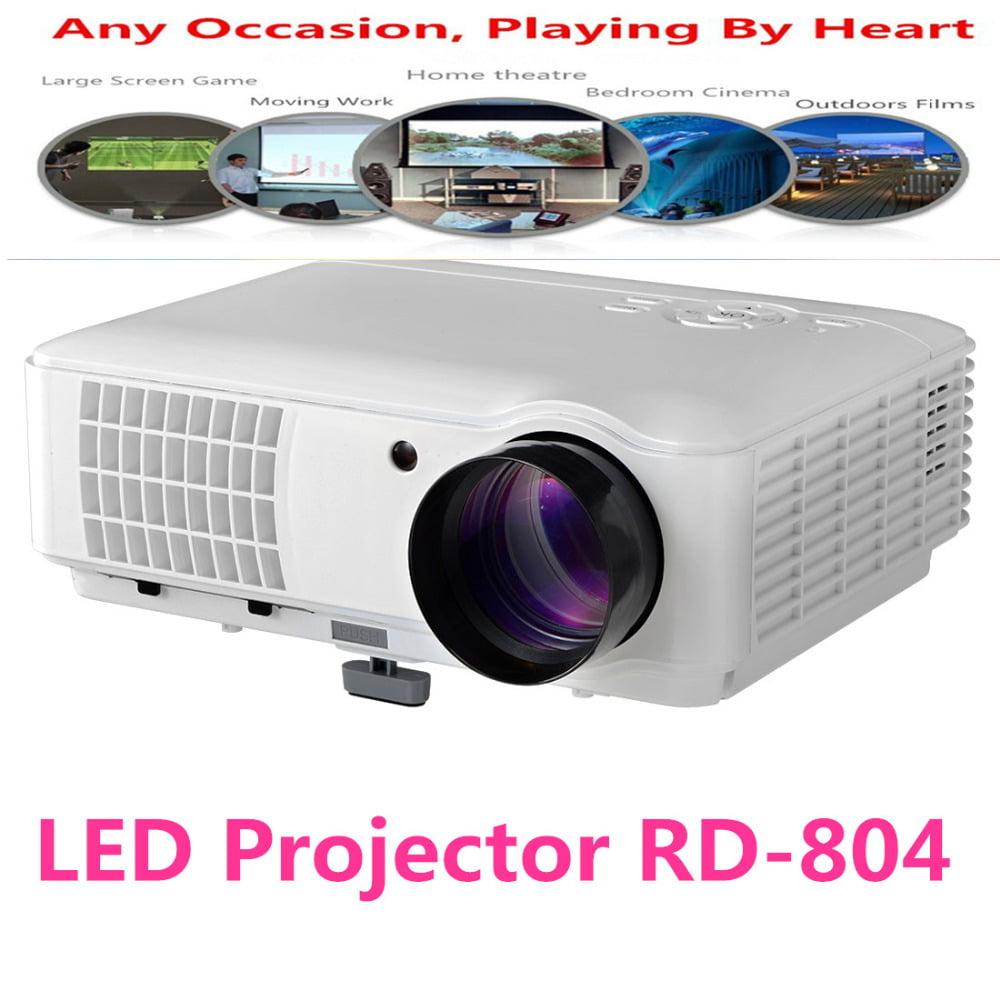 Brightness 5500lumens Long Life Led Full Hd Led Home: LED Projector-2500 Lumens Brightness Long Life Adjustable